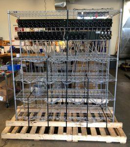 BIB rack built